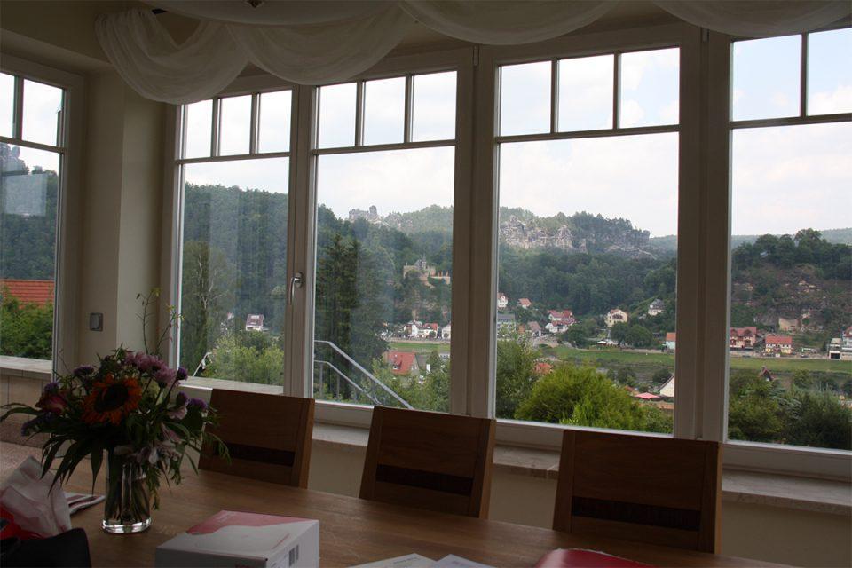Esszimmer Panoramablick
